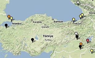 Türkiye Diller Haritasi