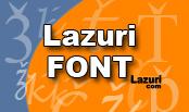 Lazuri Font - Lazca yazı karakterleri