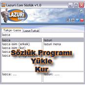 Türkce Lazca Sözlük Programı
